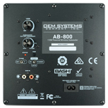 Wireless Subwoofer - AB-800 - Control Panel