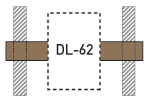 Speaker Drywall Locators - DLR-62 - Thumbnail
