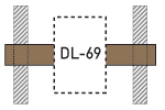 Speaker Drywall Locators - DLR-69 - Thumbnail