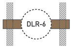 Speaker Drywall Locators - DLR-6 - Thumbnail