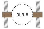 Speaker Drywall Locators - DLR-8 - Thumbnail
