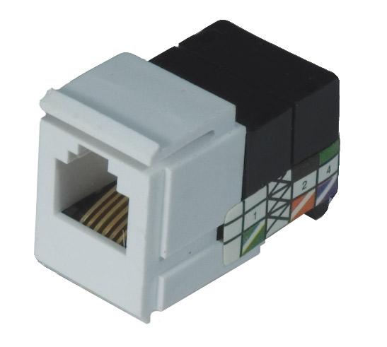 rj 11 phone jack connector pro wire x rj11 oem. Black Bedroom Furniture Sets. Home Design Ideas