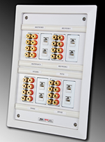 Pro-Wire In-Wall Media Panel - MP-8 - Example1 Thumbnail