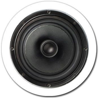 In-Ceiling Speaker, 2 way, 6-1/2 inch - A-606