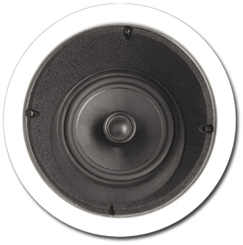 In-Ceiling Speaker, 2 way, 15 degree, 6-1/2 inch - A-6LCRS