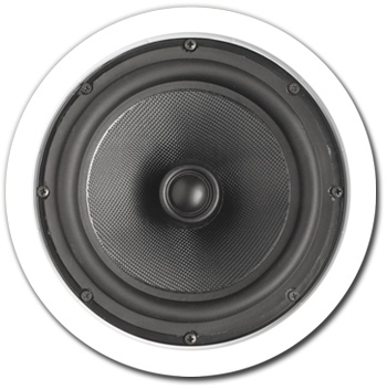 In-Ceiling Speaker, 2 way, 8 inch - A-808