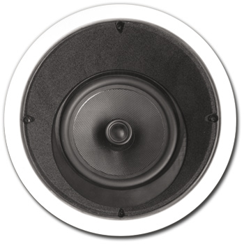 In-Ceiling Speaker, 2 way, 15 degree, 8 inch - A-8LCRS