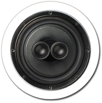In-Ceiling Speaker, 2 way, Single Point, 6-1/2 inch - A-SP6