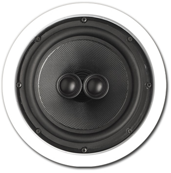 In-Ceiling Speaker, 2 way, Single Point, 8 inch - A-SP8