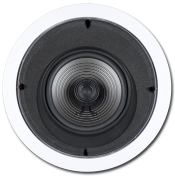 In-Ceiling 15 Degree Angled Speaker, 2-way, 6-1/2 inch - PV-6LCRS