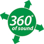 Sound Terrain Landscape Speakers - 360 Degrees of Sound Logo