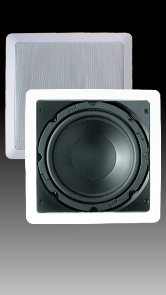 In-Wall 8 inch Dual Voice Coil Subwoofer - SE-80SWD