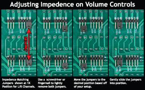 Adjusting Impedence