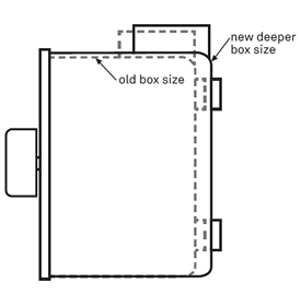 Pro-Wire Outdoor Volume Control Box - AW-IMP100WV-B - Diagram